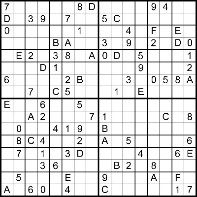 photograph relating to Monster Sudoku Printable called CSCI 4500/6500 Programming Languages: Challenge 6 : Sudoku